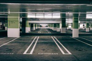 Carpark with parking management system