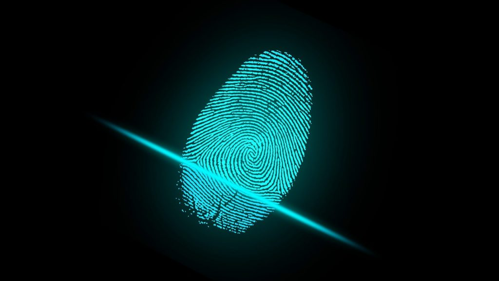 Fingerprint scanning for door access systems