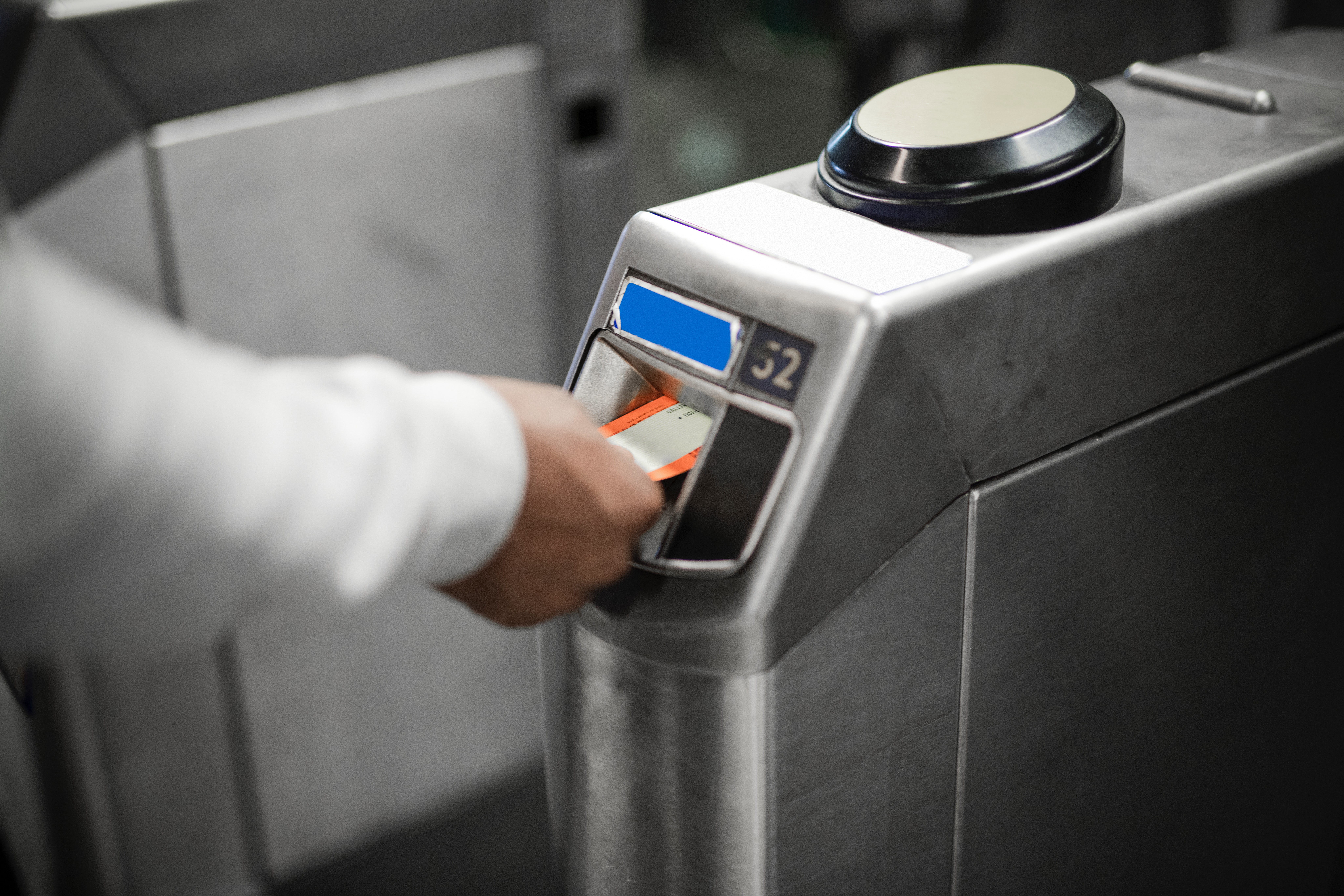 Smart gate with a turnstile system in the Philippines