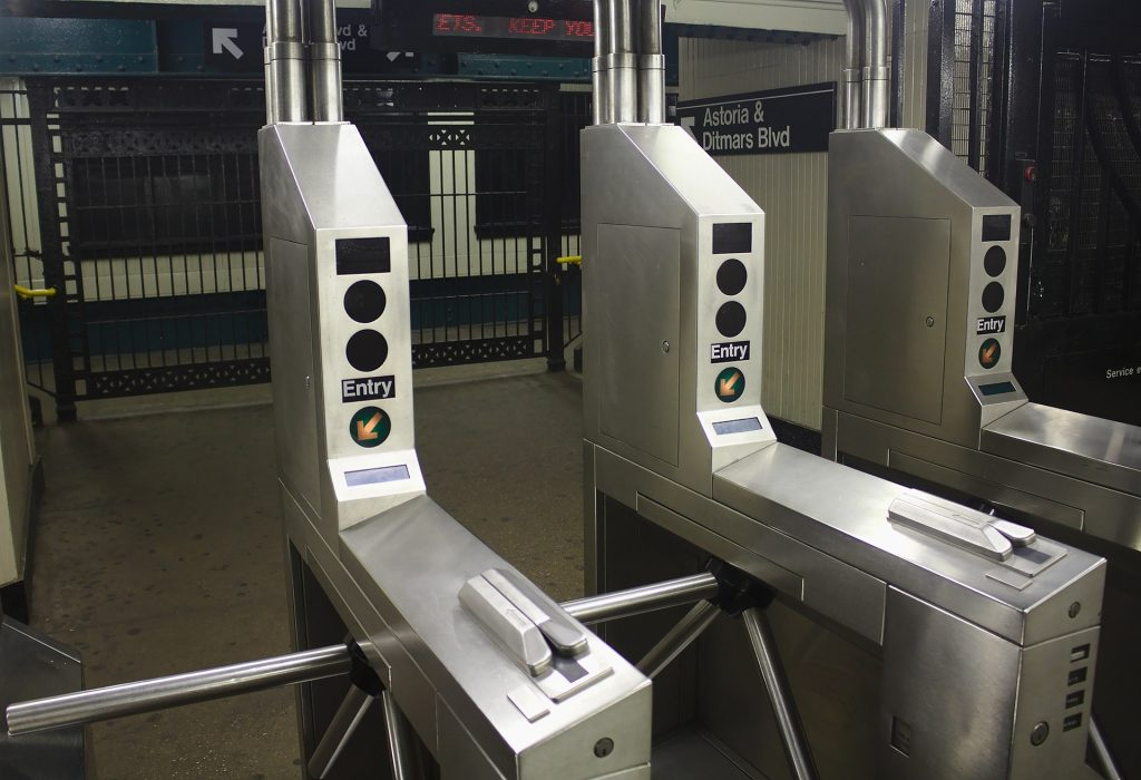 metal turnstile systems