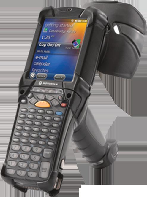 A handheld reader