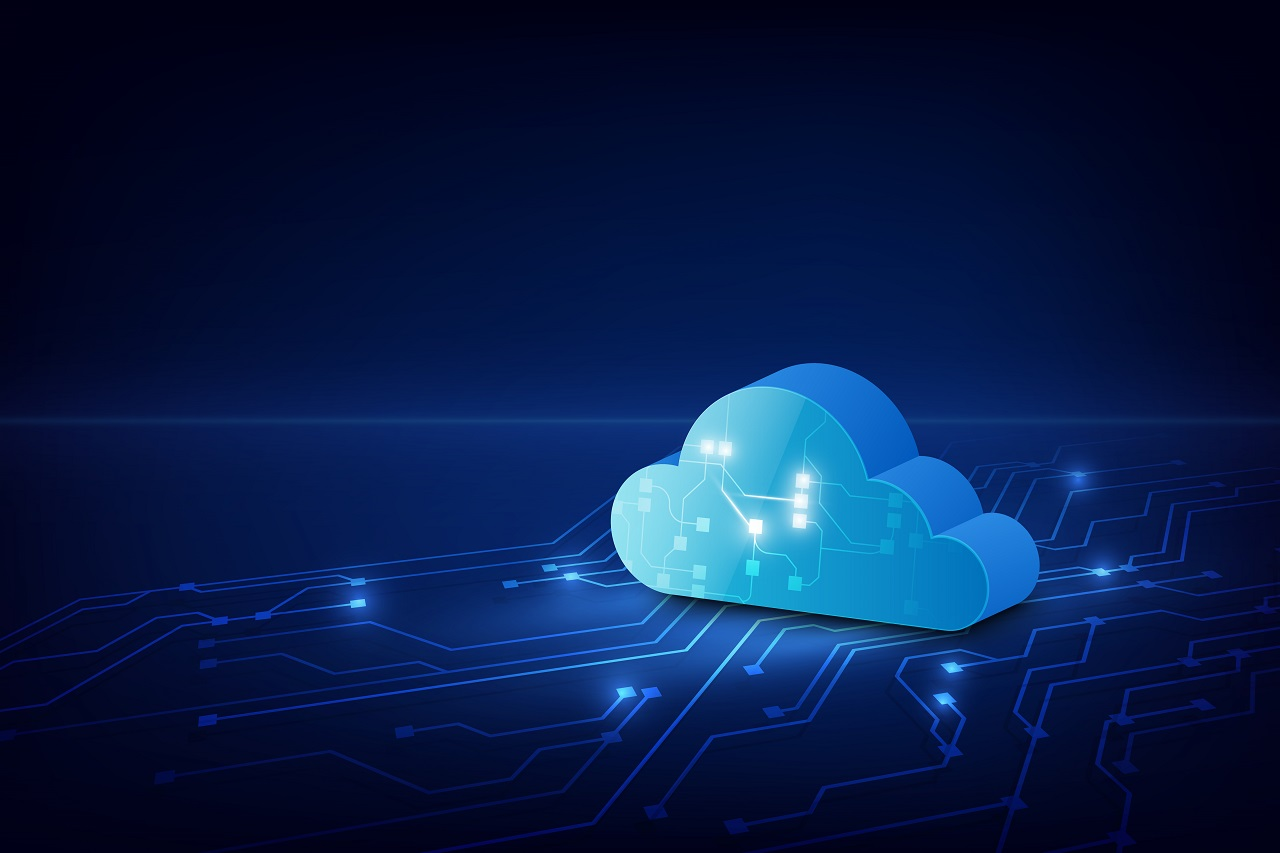 The cloud, an online data storage location