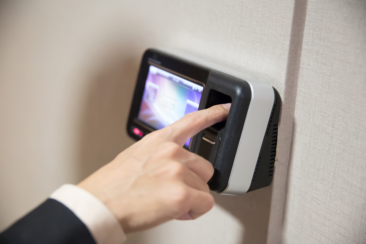 A fingerprint security system