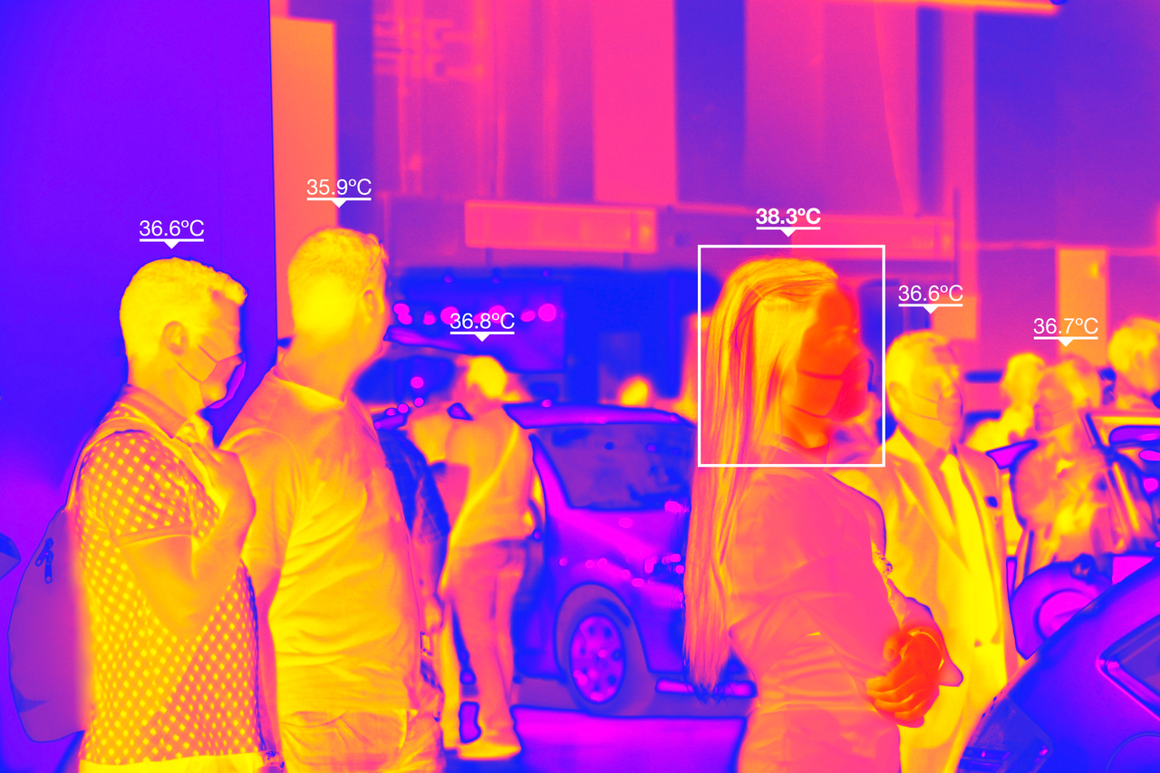 Thermal camera picture